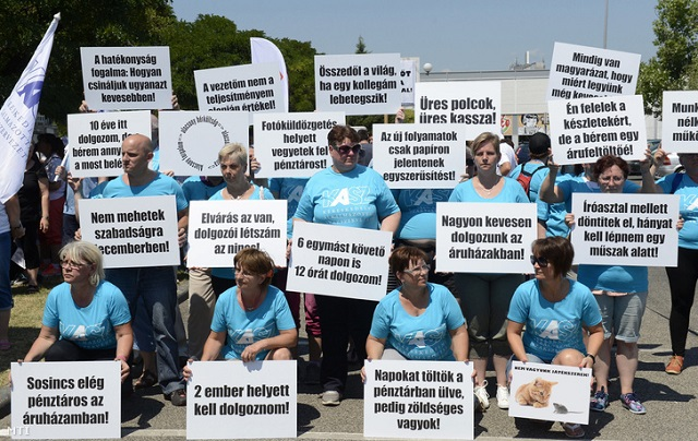 Több Tesco-sztrájk is jöhet szeptemberben