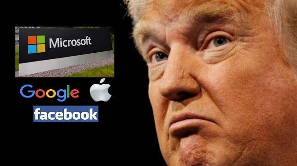 Apple, FB, Google, Microsoft: Tech-óriások indulnak harcba Trump ellen