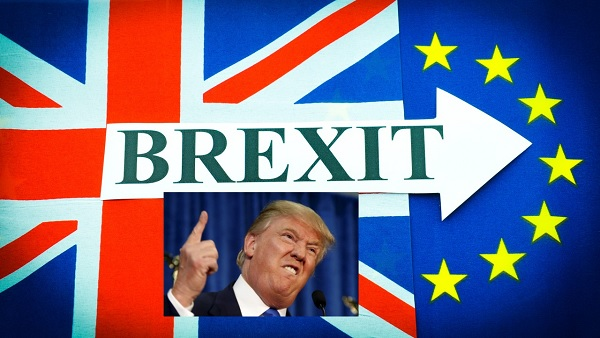 Trump a Brexitet magasztalta, fényes jövőt jósol a briteknek