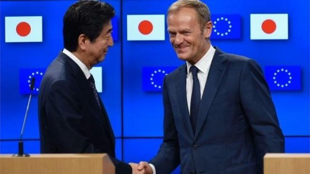 Megkötötték az EU-Japán szabadkereskedelmi egyezményt