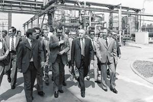 50 éve avatták a Tiszai Vegyi Kombinátot