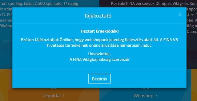 Vizes vb: a szelfiapp már működik, a webshop még nem