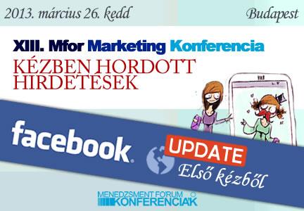 XIII. MFOR Marketing Konferencia - Kézben hordott hirdetések