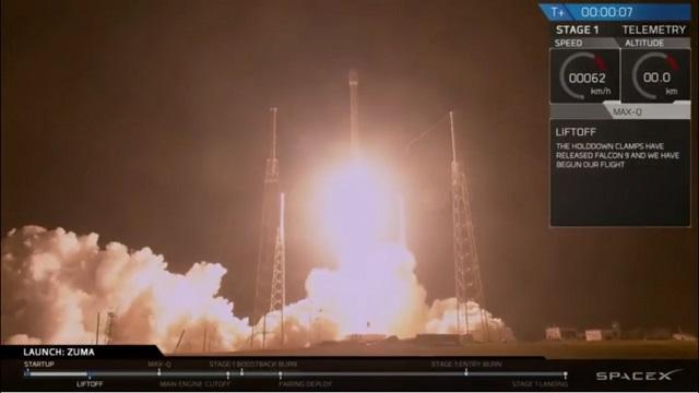 Darabokra hullott, a tengerben végezte a titkos űreszköz, amit a SpaceX lőtt fel